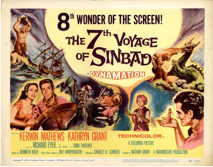 Risultati immagini per the 7th voyage of sinbad